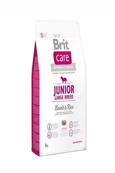 NEW Care Junior Large Breed  для щенков крупных пород, ягненок с рисом