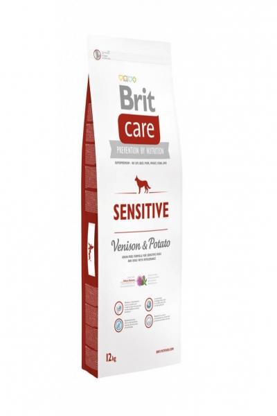 NEW Care Dog Sensitive (Venison) д/собак с чувств. пищеварением, оленина с карт.