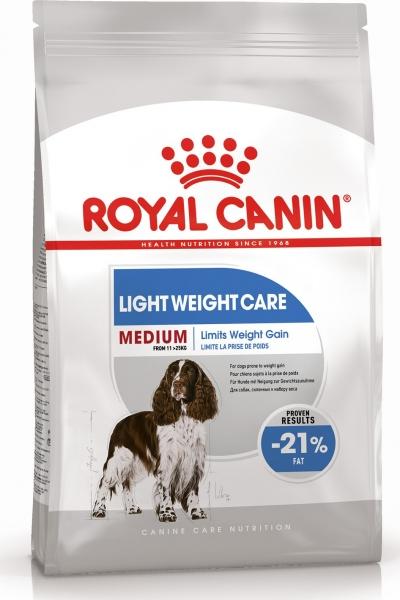 Medium Light Weight Care для взрослых собак склонных к полноте Royal Canin