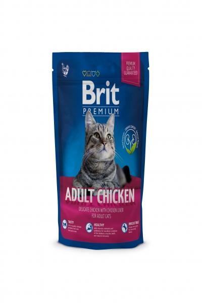 NEW Premium Cat Adult Chicken д/взр. кошек с  мясом курицы и кур.печенью