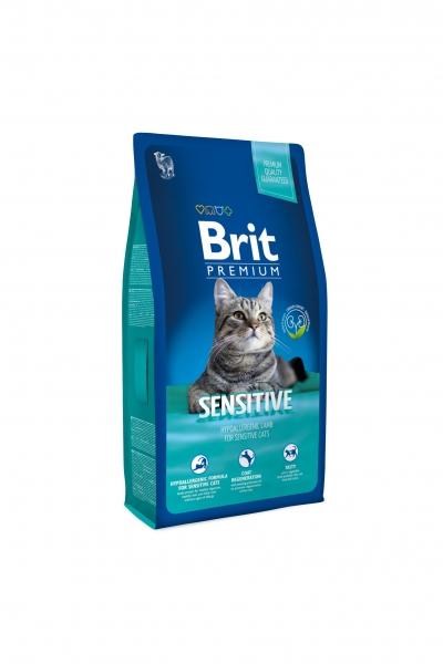 NEW Premium Cat Sensitive гипоалл. с ягненком д/кошек с чувств.пищеварением