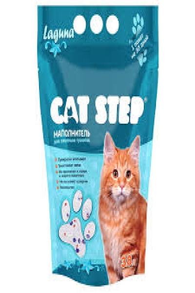 Наполнитель для кошачьих туалетов Cat Step Лагуна