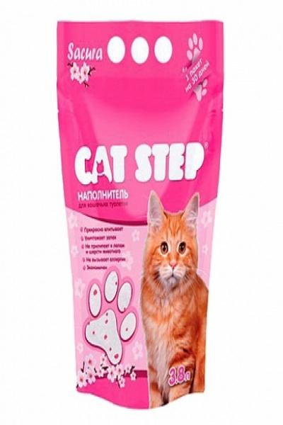 Наполнитель для кошачьих туалетов Cat Step Сакура
