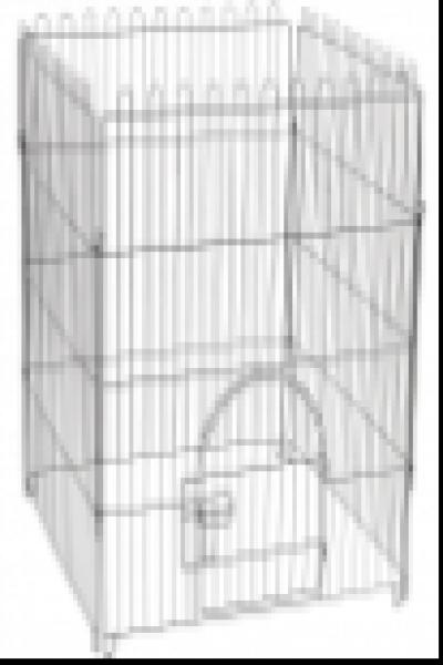 K2 Клетка-вольер для животных, 4 секции, эмаль, 840*950мм